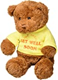 "Gund T-Shirt Bear Get Well Soon Plush, 12"""