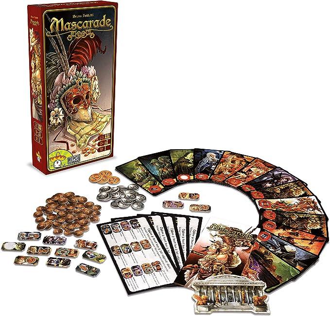 Repos Mascarade, juego de cartas (Versión italiana) , color/modelo surtido: Amazon.es: Juguetes y juegos