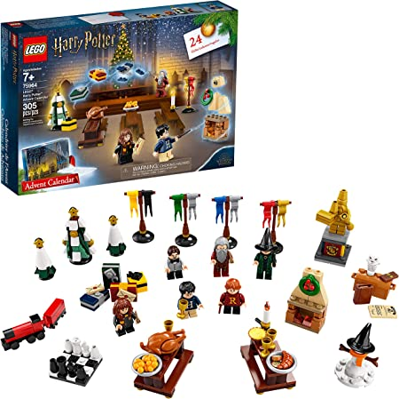 Lego Harry Potter Advent Calendar 75964 Building Kit 305 Pieces Discontinued By Manufacturer Toys Games