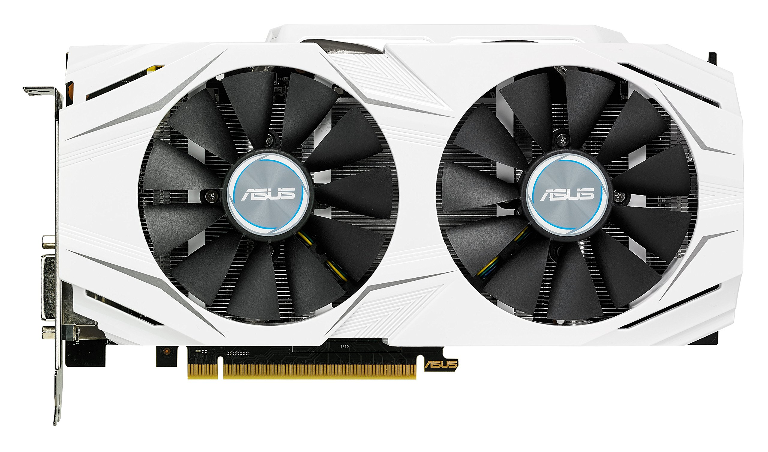 ASUS GeForce GTX 1060 6GB Dual-fan OC Edition VR Ready Dual HDMI DP 1.4 Gaming Graphics Card (DUAL-GTX1060-O6G) by Asus (Image #1)