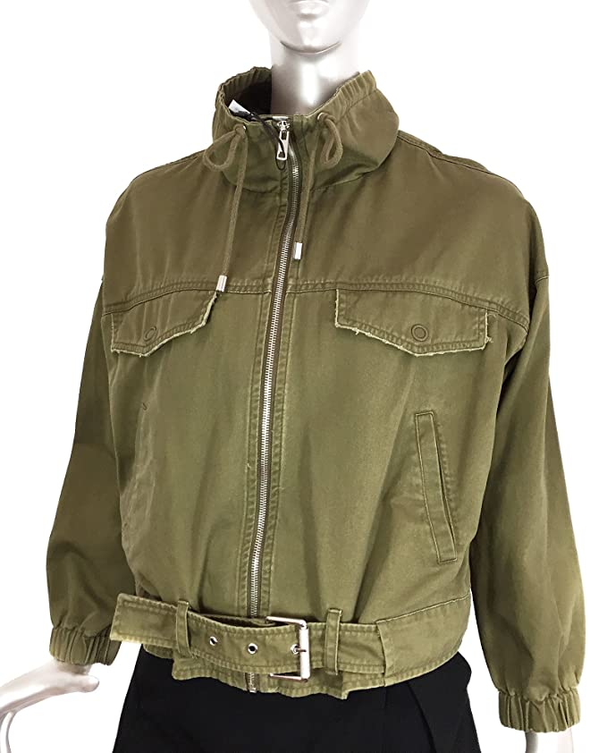 Zara - Chaqueta - para Mujer Verde S: Amazon.es: Ropa y ...