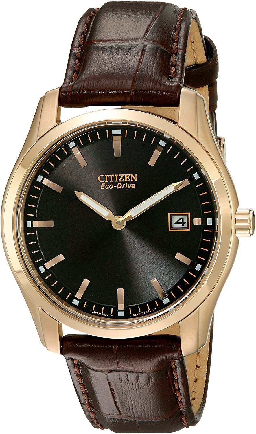 Citizen Men s Eco-Drive Stainless Steel Watch, AU1043-00E