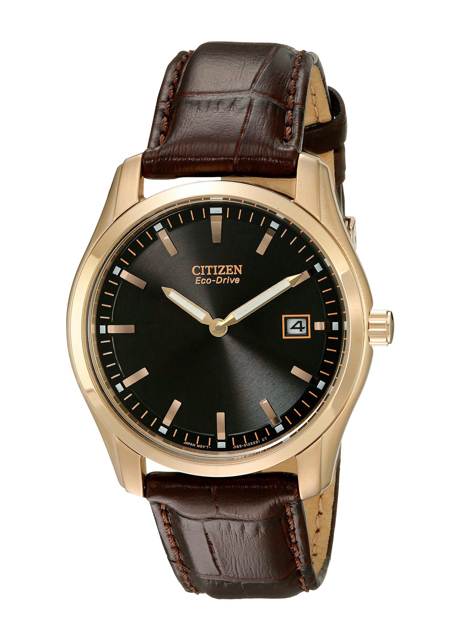 Citizen Men's Eco-Drive Stainless Steel Watch, AU1043-00E