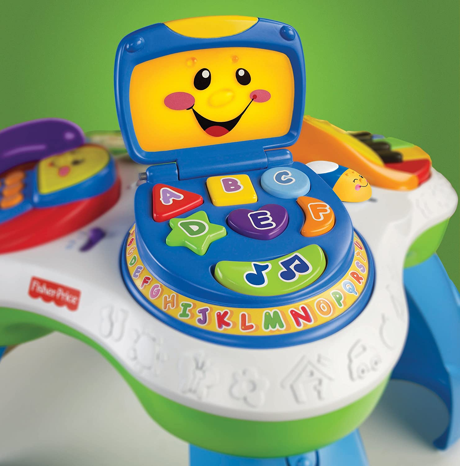 Fisher Price Laugh & Learn Fun with Friends Musical Table Amazon