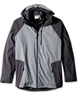 Champion Men's Tall Size Technical Ripstop 3-in-1 System with Sweater Fleece Inner Shell Jacket
