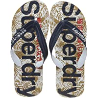 Superdry Printed Cork Flip Flop Mens Sandals Navy
