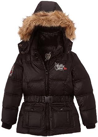 lowest discount good looking sale online Redskins Kid ELISA 2 Manteau, Noir (Black), FR (Taille ...