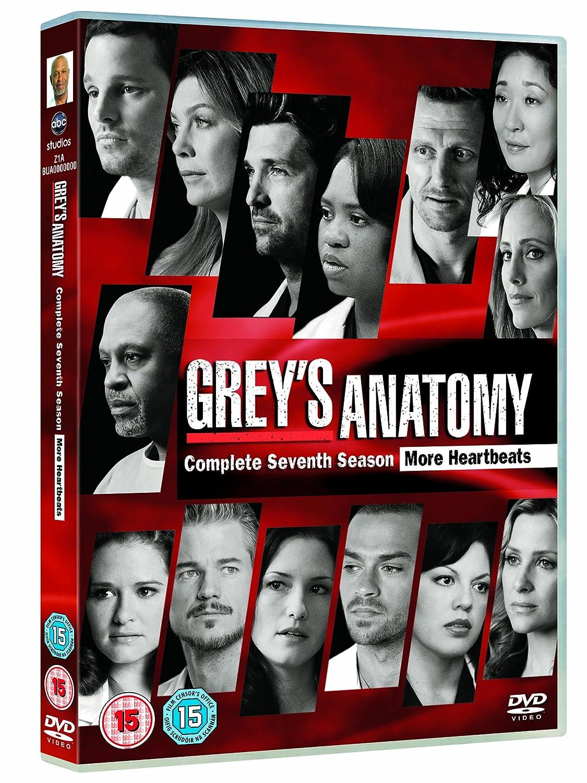 Greys Anatomy Season 7 Dvd Amazon Ellen Pompeo Sandra