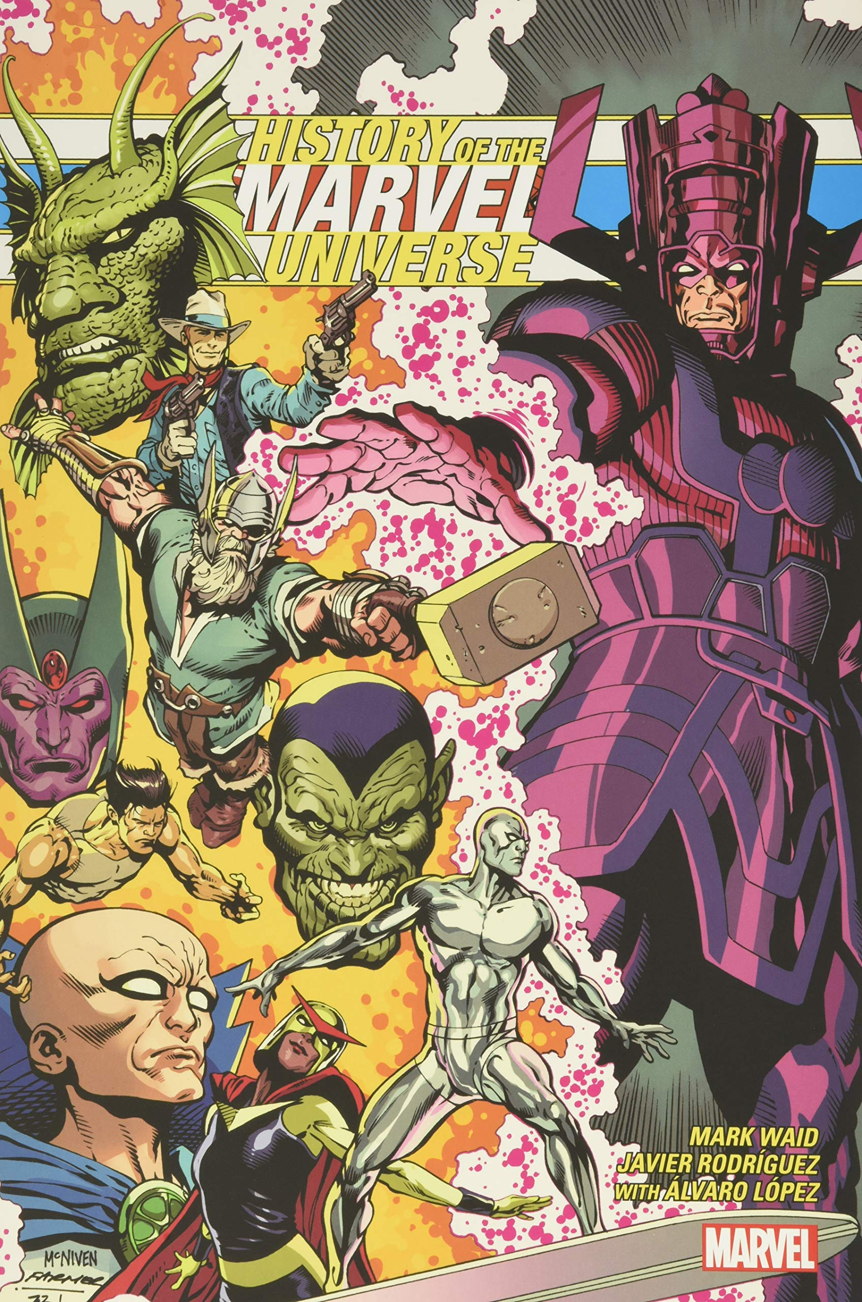 History of the Marvel Universe Treasury Edition  Rodriguez ...