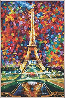 product image for Frame USA Paris of My Dreams by LEONID AFREMOV Poster (Silver Metal Frame)(24x36)
