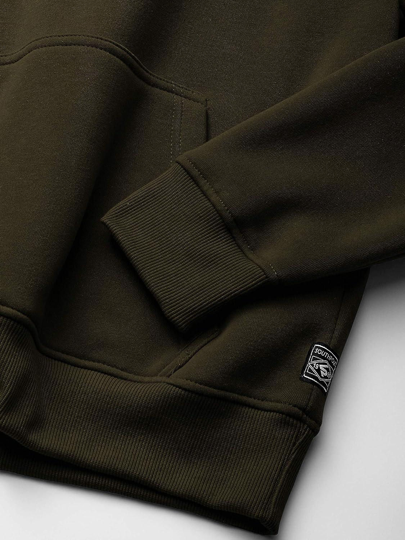 Southpole Herren Fleece Pullover Sweatshirt Olivengel