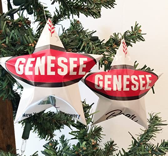 Genesee Beer Can Stars, Recycled Aluminum Beer Can Stars, Upcycled Can, Christmas  Ornaments - Amazon.com: Genesee Beer Can Stars, Recycled Aluminum Beer Can Stars
