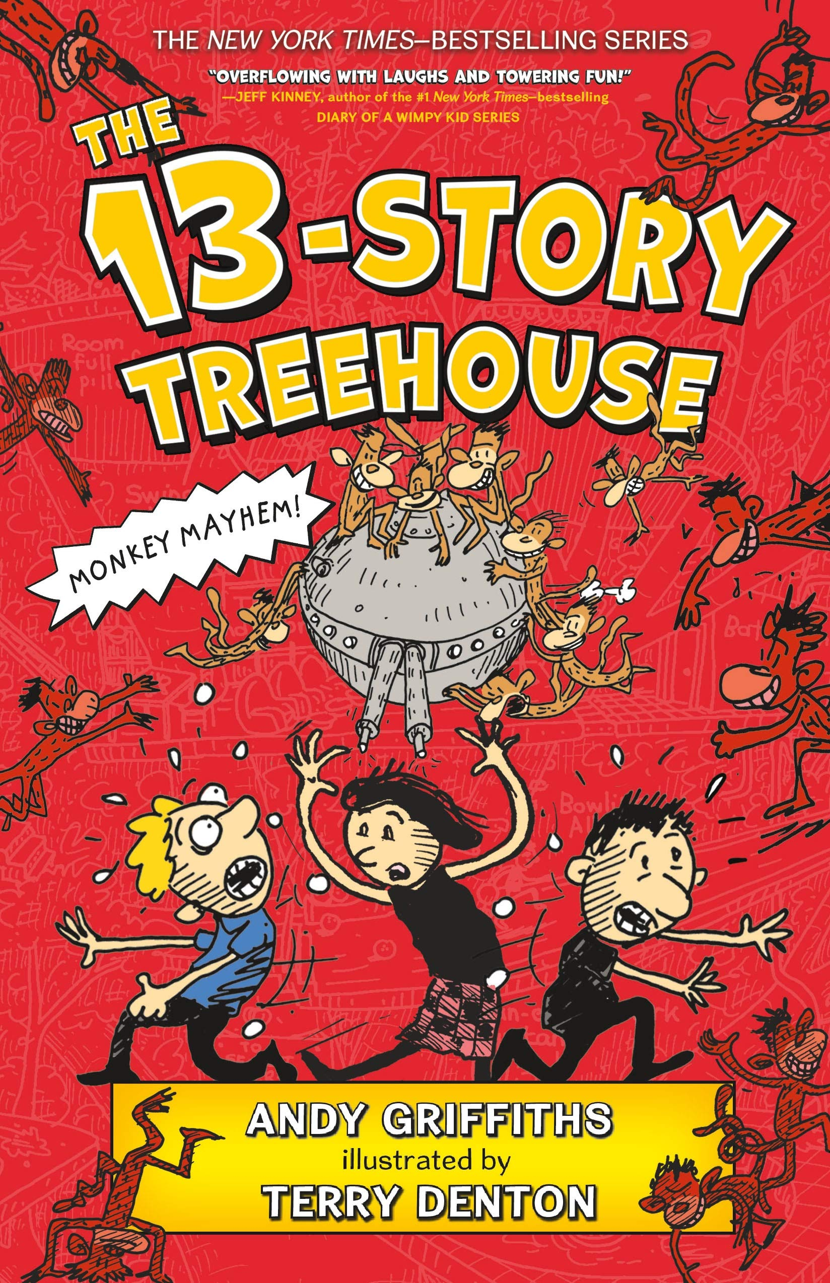 the 13 storey treehouse denton terry griffiths andy