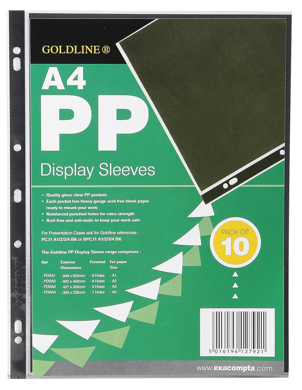 A4 Incolore Clairefontaine PDSA4Z Confezione Buste 30.5 x 23.5 x 0.5 cm