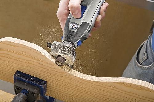 Sanding Wood Using a Rotary Tool