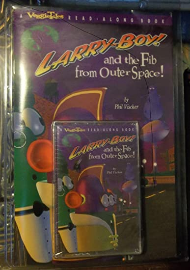 Read-Along - Veggietales: Larry-Boy! and the Fib From Outer