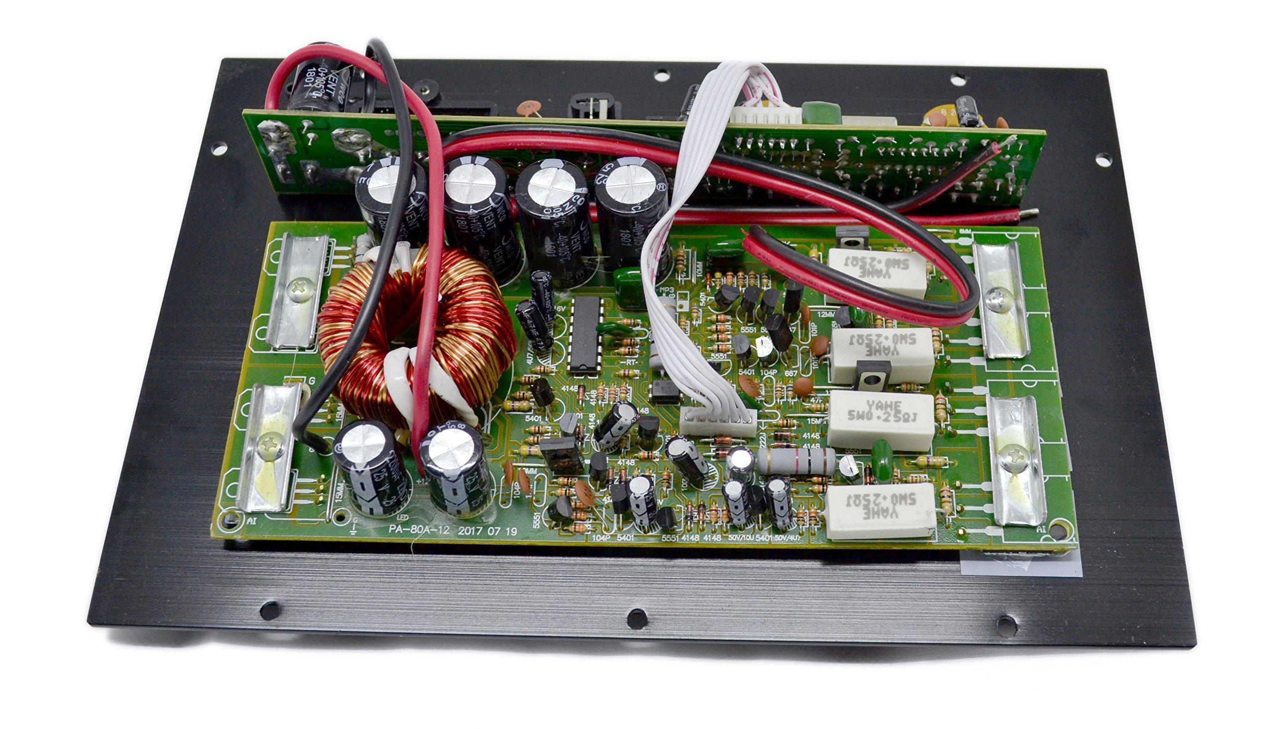 PA-80D Car Amplifie 1000W High Power Tube Amplifier Subwoofer Amplifier by bass audio (Image #4)