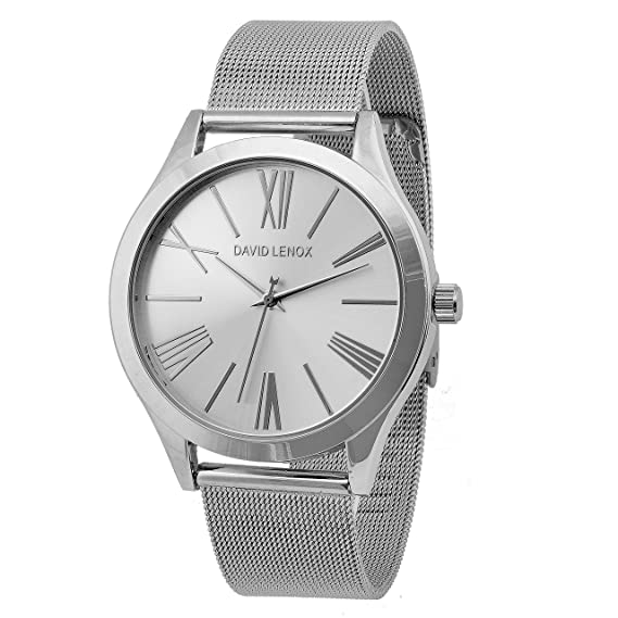David Lenox plata tono de la mujer reloj Michael Kors Runway Collection estilo dl0330: Amazon.es: Relojes