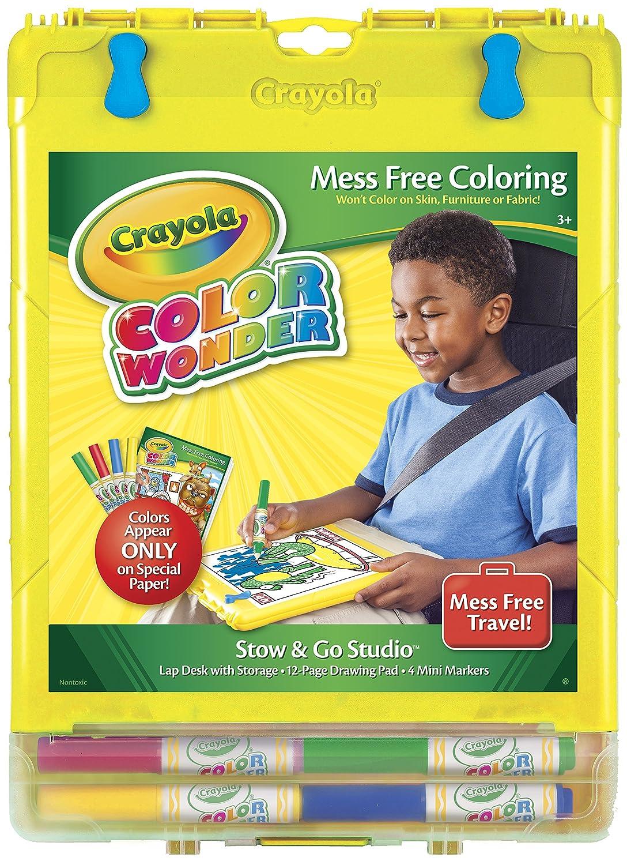 Amazon.com: Crayola, Color Wonder Mess-Free Coloring, Stow & Go ...