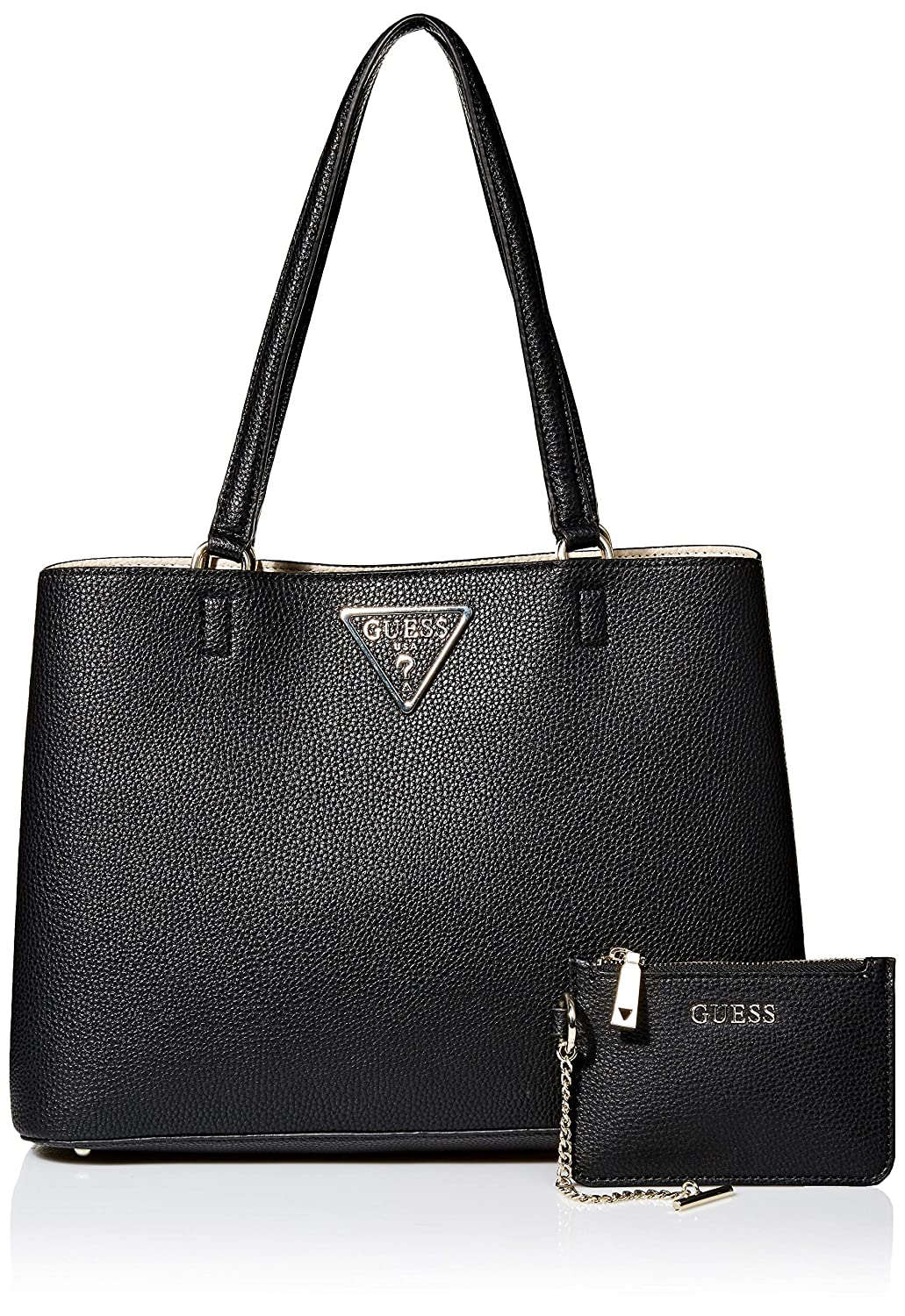 Borsa donna guess mod Kamryn tote colore black multicolor