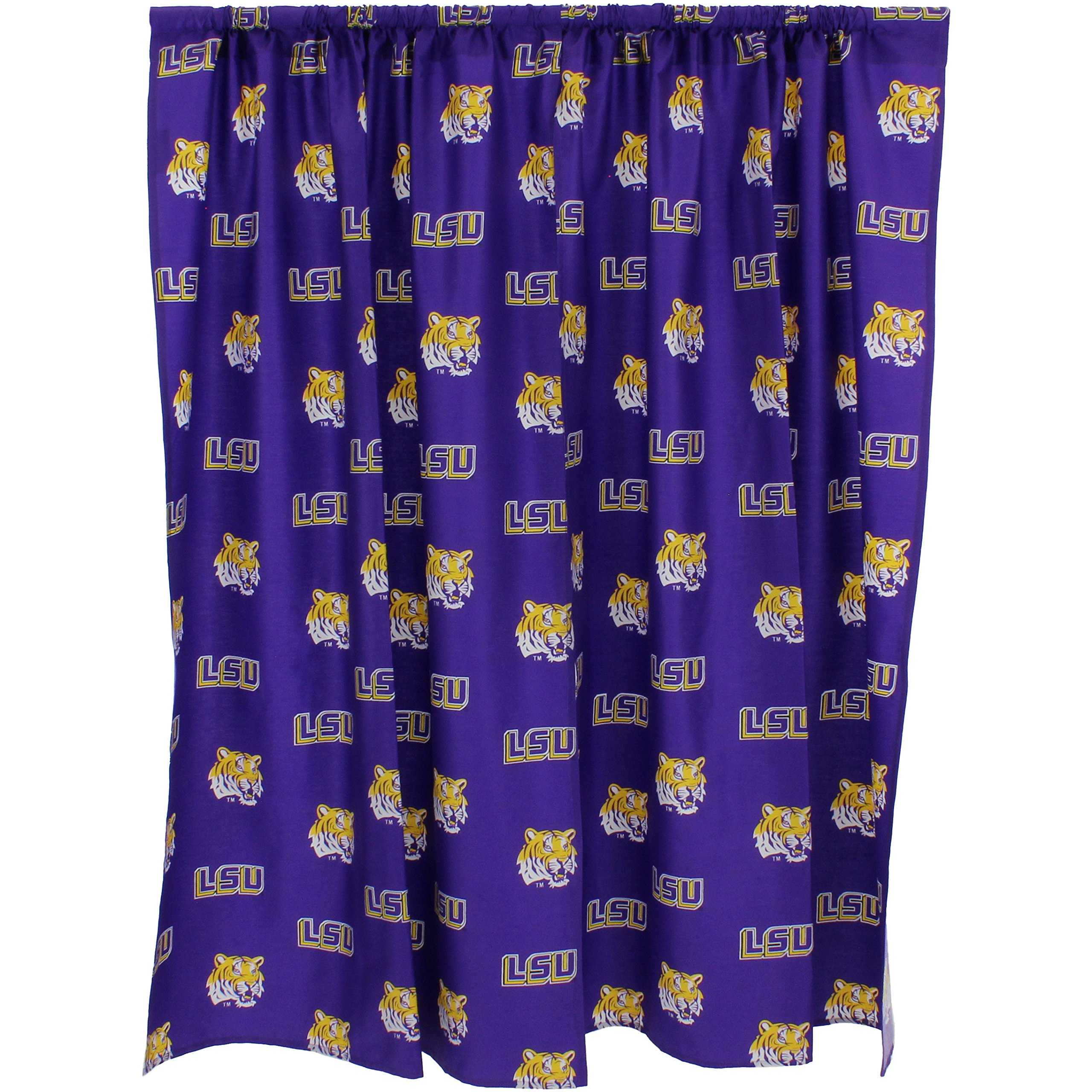 College Covers Louisiana State Tigers Printed Curtain Panels 42'' x 84'' by College Covers (Image #2)
