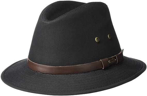 39de4d77d1a Stetson Men s Gable Rain Safari Hat at Amazon Men s Clothing store