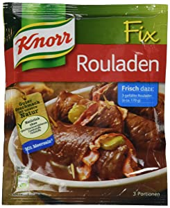 Knorr Fix rouladen (Rouladen) (Pack of 4)
