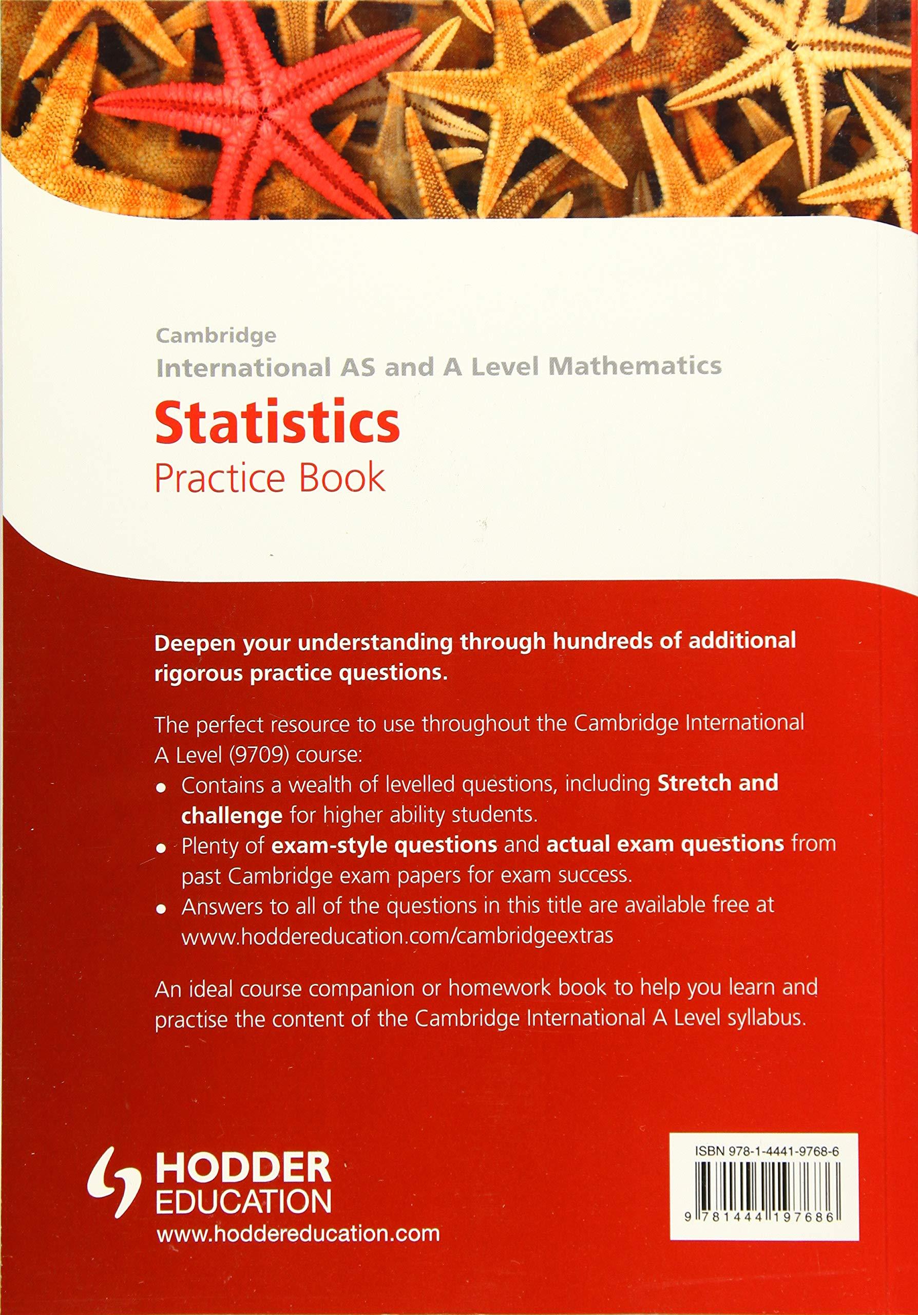 Buy Cambridge International A/AS Mathematics, Statistics