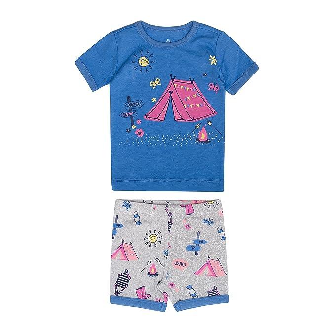 Petit Lem Juego De Pijama Para Nina De 2 Piezas Comodo Lindo Y