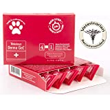 Veterinus Derma GeL PAW Care Pack with 5 x Mini Tubes 10mL - 0.34 fl.oz. - CAT Safe Non Toxic Contains: Freeze Dried Lavender