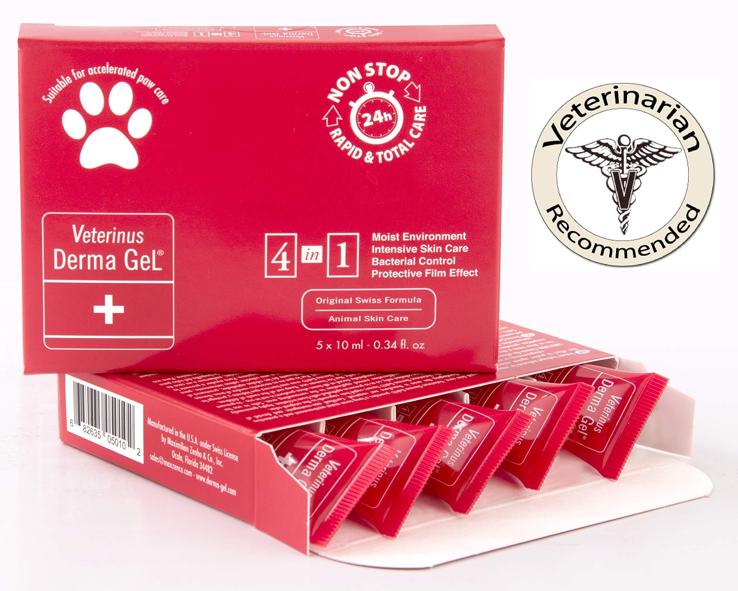 Veterinus Derma GeL PAW Care Pack with 5 x Mini Tubes 10mL - 0.34 fl.oz. by Veterinus Derma GeL