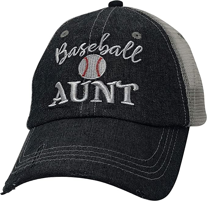 Cocomo Soul Embroidered Baseball Aunt Mesh Trucker Style Hat