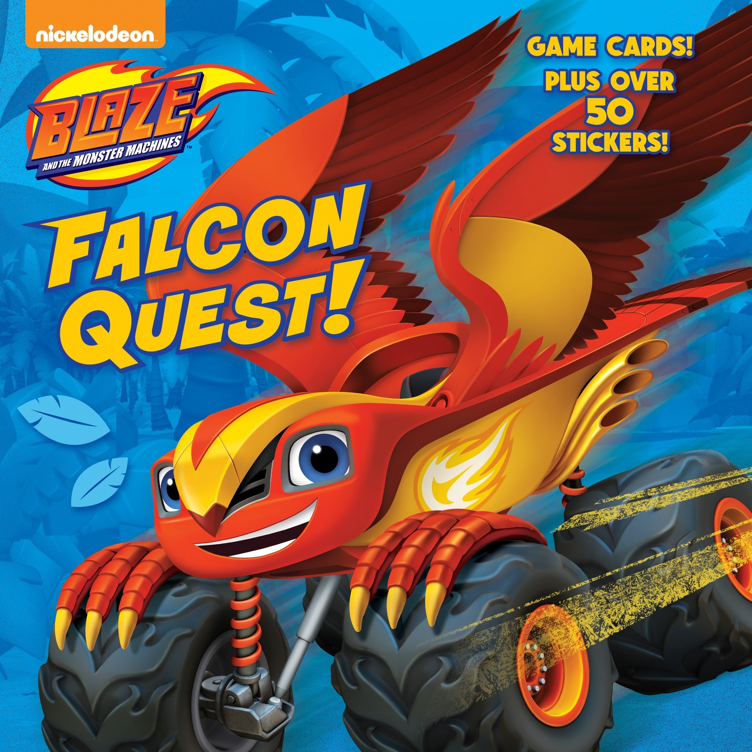 Falcon Quest! (Blaze and the Monster Machines) (Pictureback(R)) PDF