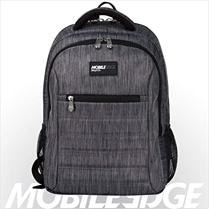 Mobile Edge Carbon SmartPack 16 Inch Laptop Backpack with Separate Padded  Tablet Pocket, Lightweight Design for Men, Women, Students MEBPSP6