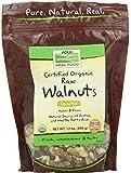 NOW Foods Walnuts Raw Organic, 12-Ounce