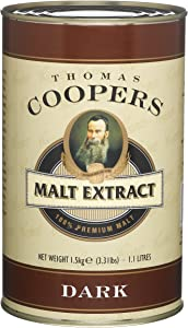 Coopers DIY Beer Dark Home Brewing Malt Extract