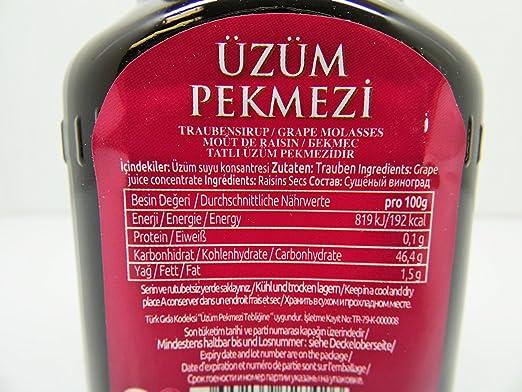 Gulluoglu Lalin Molasses - Pekmez (Grape Molasses - Uzum ...