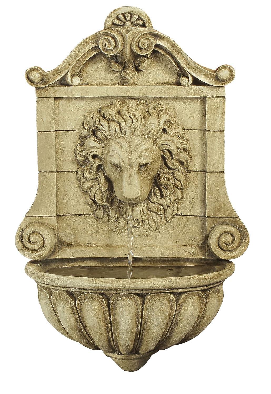 Fontaine Murale Tete Roi Lion: Amazon.fr: Jardin