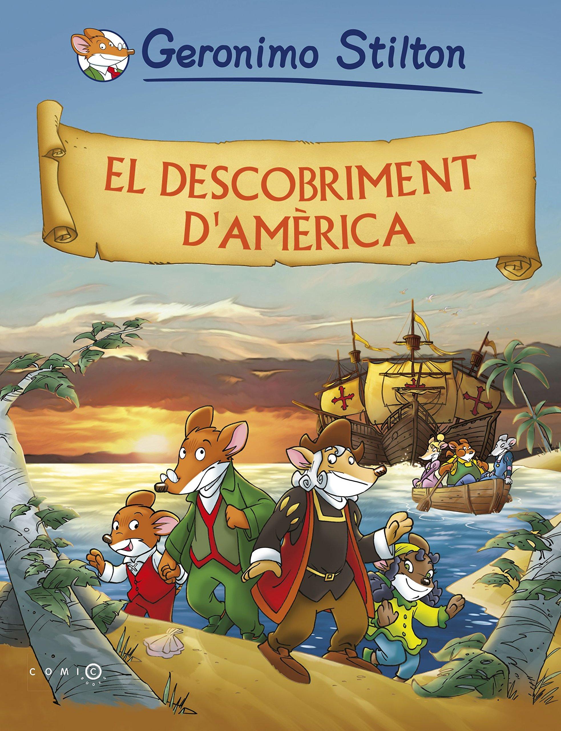 El descobriment dAmèrica (Comic Books): Amazon.es: Stilton ...