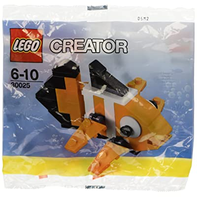 LEGO Creator Mini Figure Set Clown Fish 30025: Toys & Games