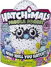 Hatchimals Juguete Fabula Forest Puffatoo