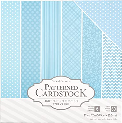 20 sheets of Core/'dinations  card stock 12 x 12 NEW c1 card making