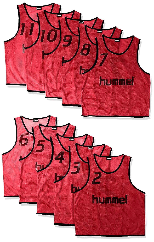 (ヒュンメル)hummel サッカーウェア トレーニングビブス タンクトップ HAK6006Z [メンズ] B01MUEMOVTチリペッパー 日本 L-O-(FREE サイズ)