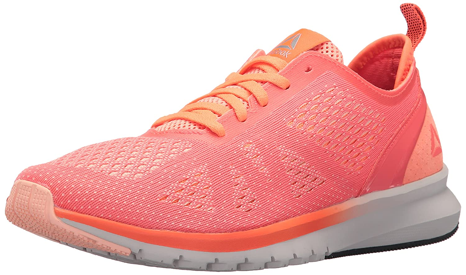 Reebok Women's Print Smooth Clip Ultk Track Shoe B074V1JGRD 8 B(M) US|Guava Punch/Peach Twist/Leather