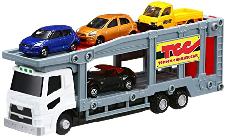 Amazon Com Tomica Gift Let S Play Tomica Career Car Set Toys Games