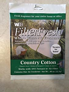 WEBFilterFresh Whole Home Country Cotton Air Freshener