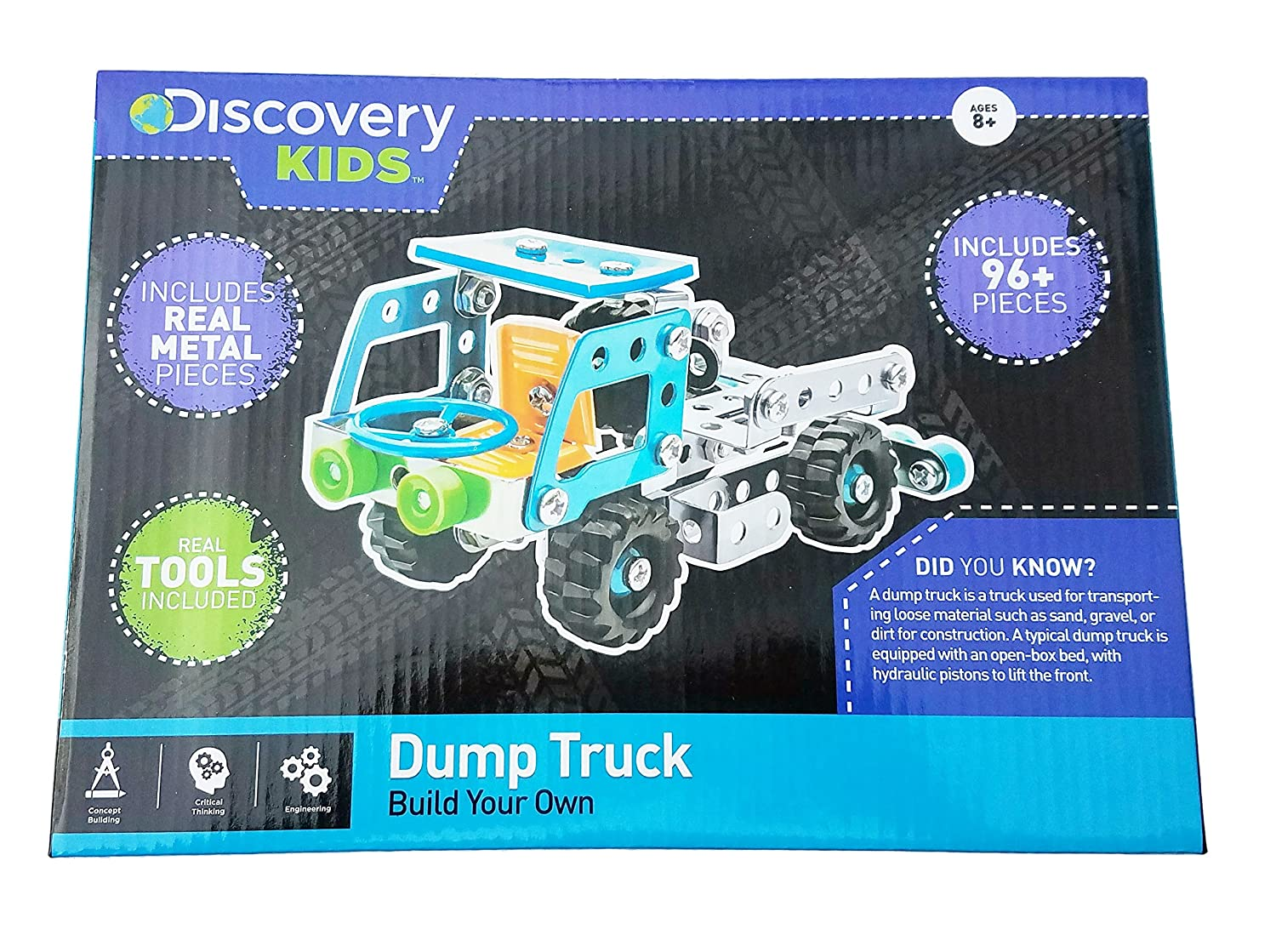 Amazon com: Discovery Kids Build Your Own Dump Truck: Toys