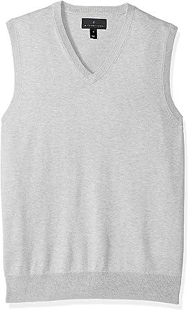 TALLA S. Marca Amazon - Buttoned Down - Jersey sin mangas ligero de algodón Supima para hombre