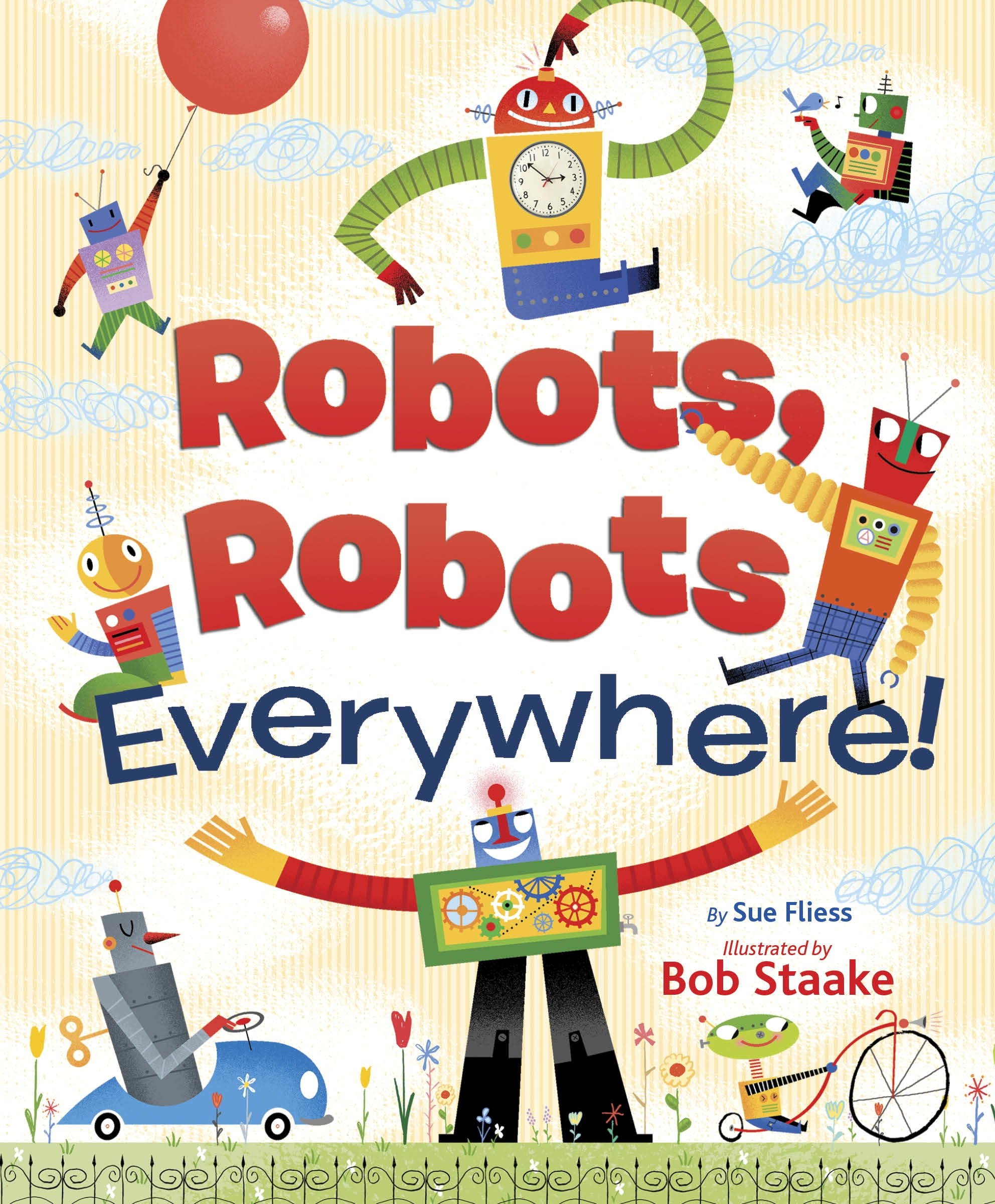 LGB Robots Robots Everywhere! (Little Golden)