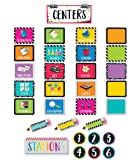 Creative Teaching Press Mini Bulletin Board Bold & Bright Classroom Centers  (2173)